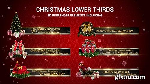 Christmas Lower Thirds 146582