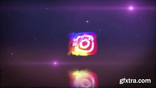 Particle Logo Animated 146685