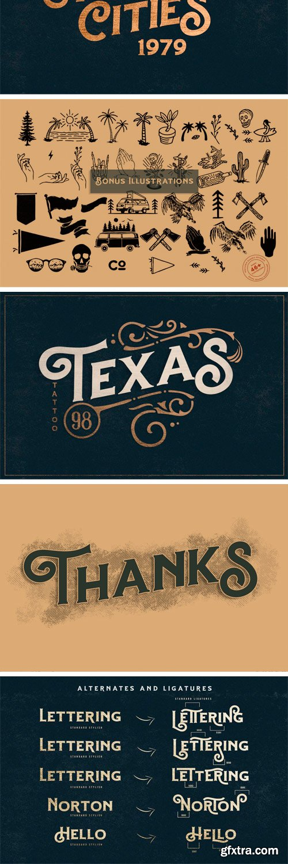 CM - Hartons Branding Typeface (Extras) 3104494