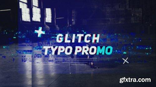 Videohive Glitch Typo Promo 19601146
