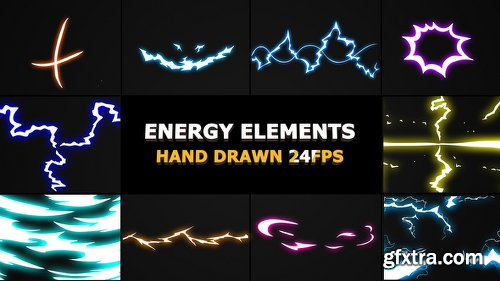 Videohive Flash FX Energy Elements And Transitions 22944226