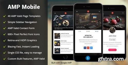 ThemeForest - AMP Mobile - Mobile Google AMP Template (Update: 4 September 18) - 18980404