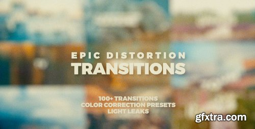 Videohive Epic Distortion Transitions 20553807
