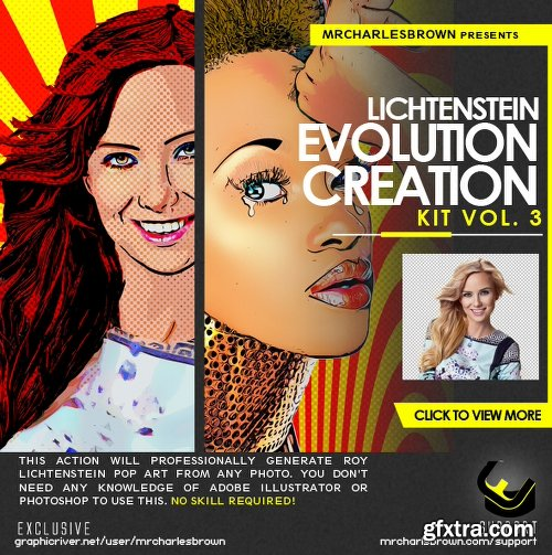 Graphicriver Lichtenstein Evolution Creation Kit v3 22921315