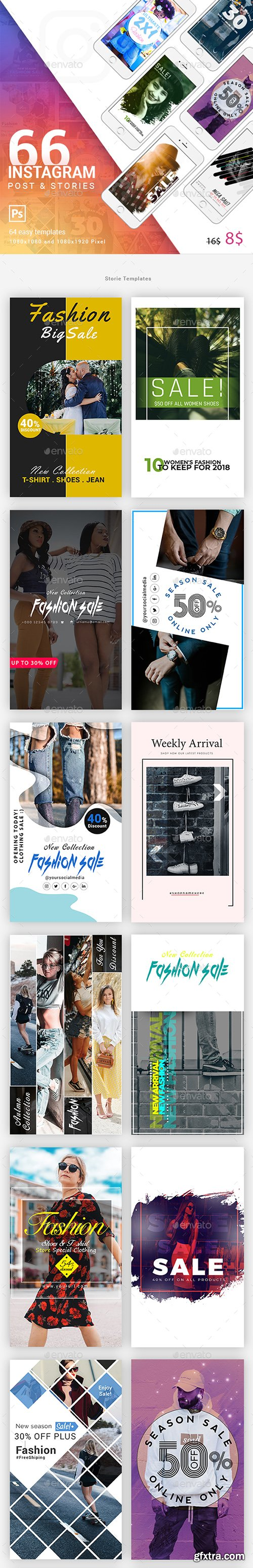 Graphicriver Instagram Post & Stories 22826921