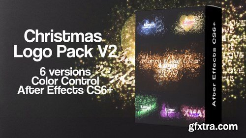 MA - Christmas Logo Pack V2 After Effects Templates 148345