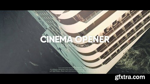 MA - Quick Cinematic Opener After Effects Templates 90831