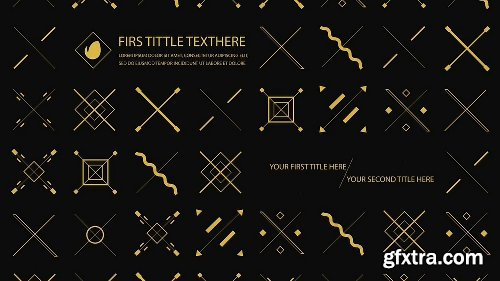 Videohive Gold Shape 17595713