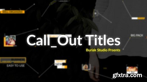 MA - Call Out Titles v.1 After Effects Templates 90808