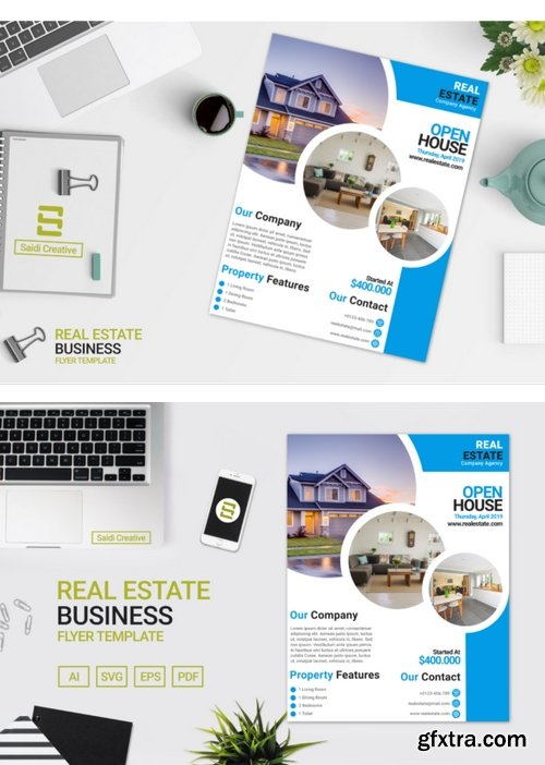 CF - Real Estate Business Flyer Template 780711