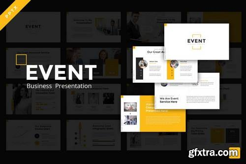 Event Business - Powerpoint, Keynote, Google Sliders Templates