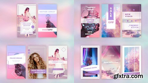 MA - Instagram Stories Pack V.1 After Effects Templates 148090