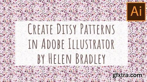 Make Ditsy Patterns in Illustrator