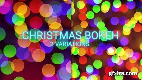 MA - Christmas Bokeh Stock Motion Graphics 147732