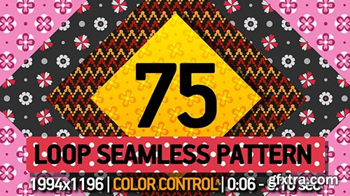 75 Pattern Loop - After Effects 134250