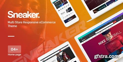 ThemeForest - Sneaker v1.0 - Shoes Responsive Magento Theme - 22946625