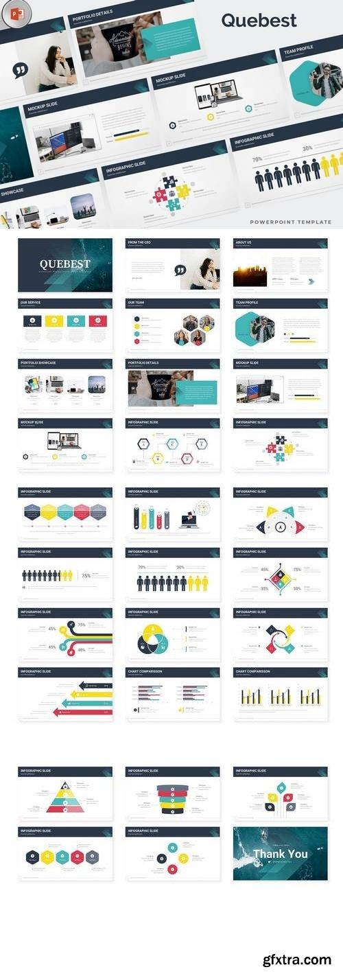 Quebest - Powerpoint, Keynote, Google Sliders Templates