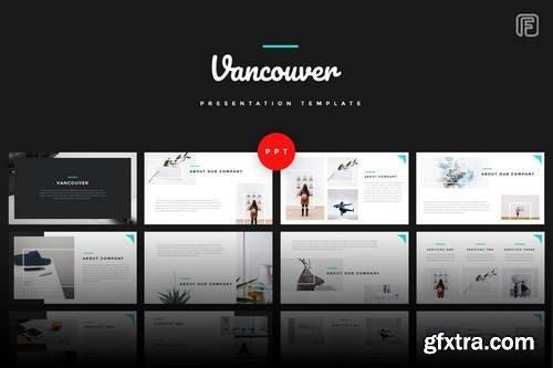Vancouver - Creative - Powerpoint, Keynote, Google Sliders Templates