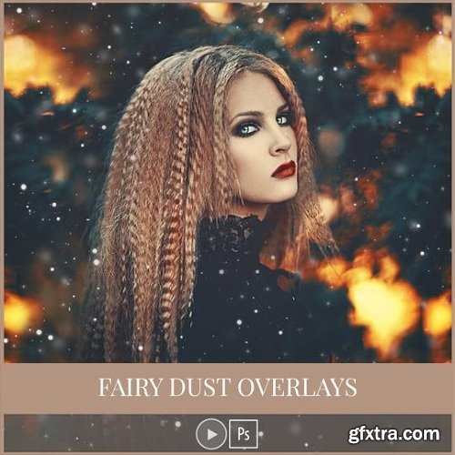 Amanda Diaz - Fairy Dust Overlays