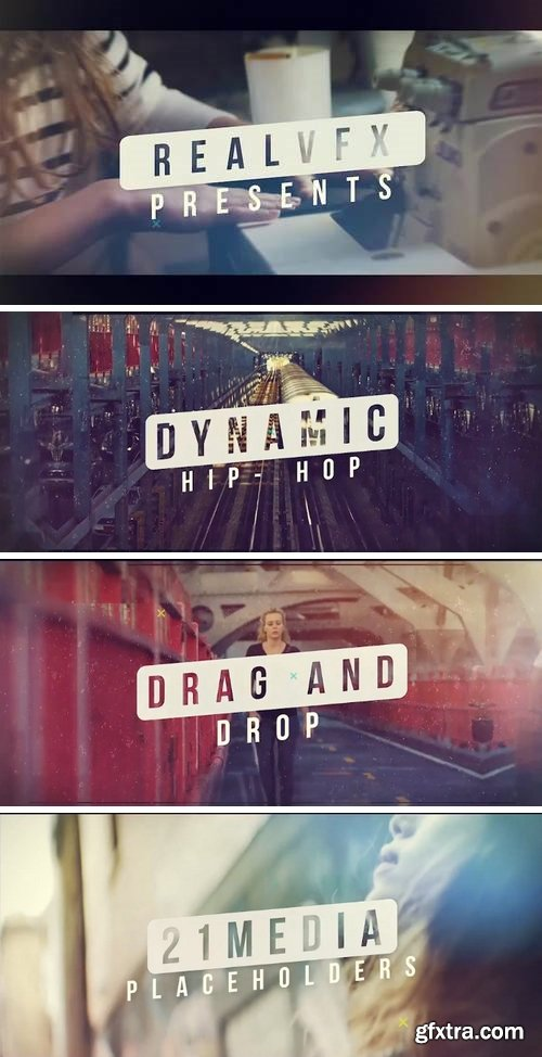 MA -  Dynamic Hiphop Opener After Effects Templates 59852