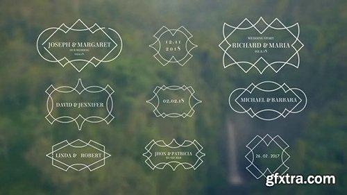 Pond5 - Premium Wedding Titles After Effect Template V11098849867