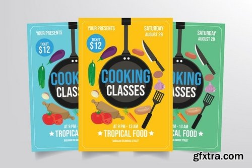 Cooking Class Flyer Template