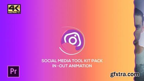 Videohive - Social Media Pack Toolkit | MOGRT for Premiere Pro - 21878435