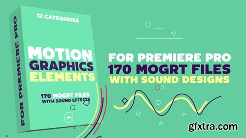 Videohive - Motion Graphics Elements Pack | MOGRT for Premiere Pro - 22061366