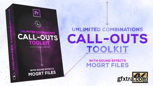 Videohive - Call-Outs Tool Kit | MOGRT Files for Premiere Pro - 22094861