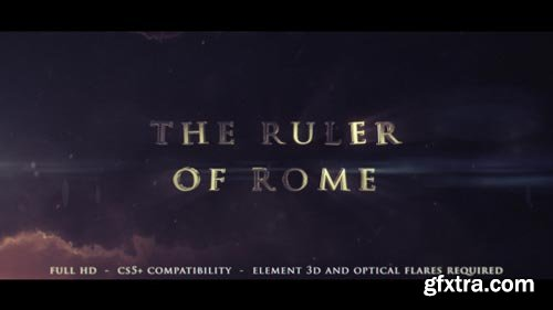 Videohive - The Ruler Of Rome - Cinematic Trailer - 11959020