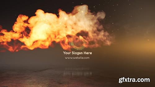 Videohive - Speed Fire Logo Reveal - 21451591