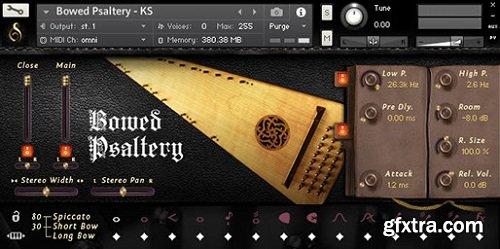Versilian Studios Bowed Psaltery KONTAKT-AWZ