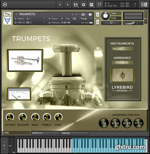 Lyrebird Sounds Trumpets KONTAKT-SYNTHiC4TE