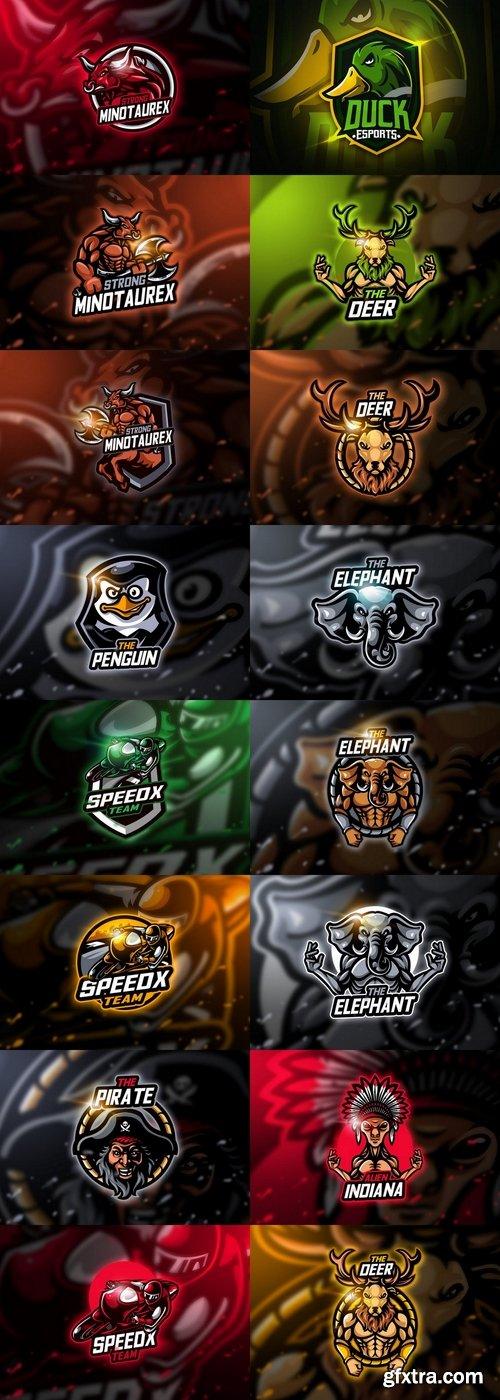 Mascots & Esport Logos Pack