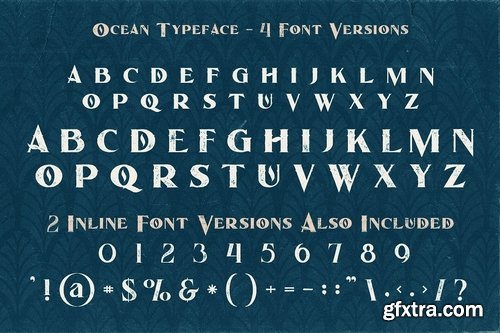 CM - Ocean - Display Font 3206119
