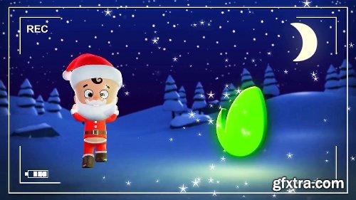 Videohive Santa & Elf Christmas Animation 22954856