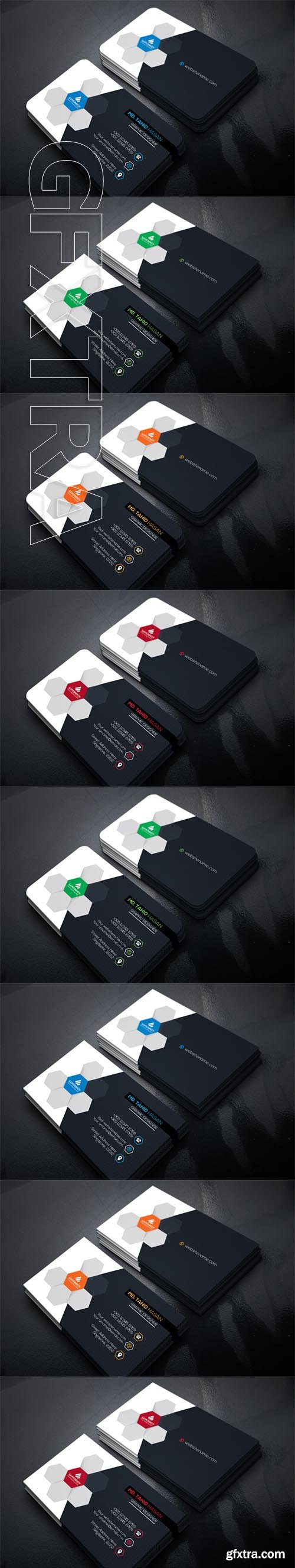 Business Card set1