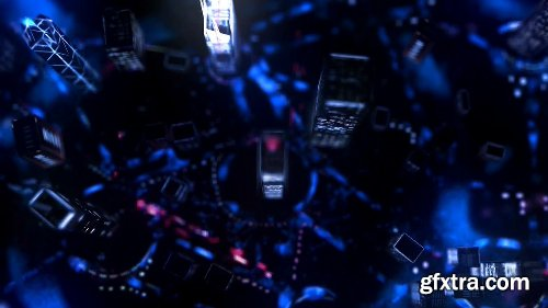 Videohive Highrise City Lights - Logo Intro 11251037