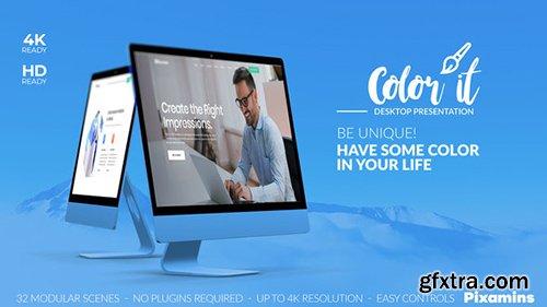 Videohive Color it - Desktop Presentation 22832756