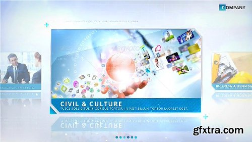 Videohive BLUE - Corporate Video Package 16048452