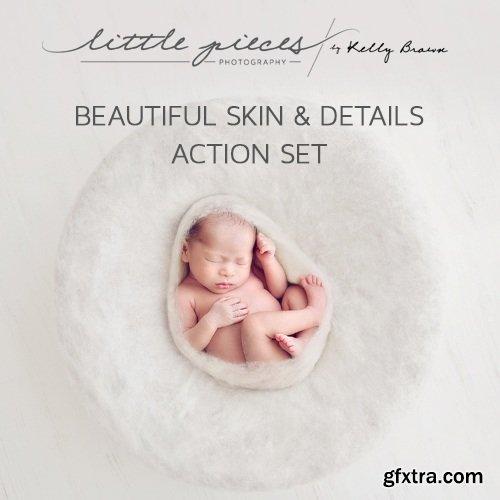 LITTLE PIECES BEAUTIFUL SKIN & DETAILS Action Set