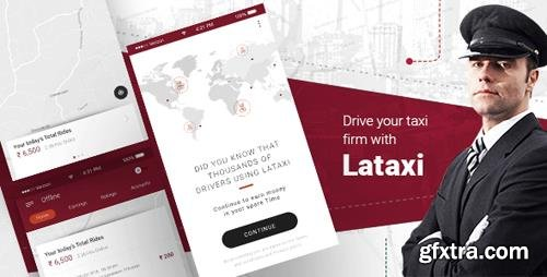 CodeCanyon - On Demand Taxi Booking Application Script- LaTaxi (Update: 30 April 18) - 20327957