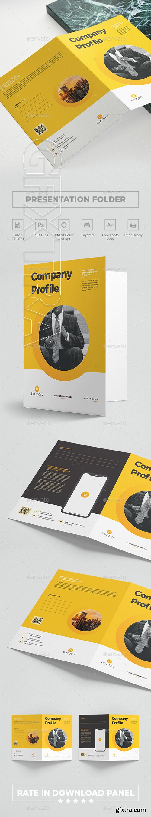 GraphicRiver - Presentation Folder 22873916