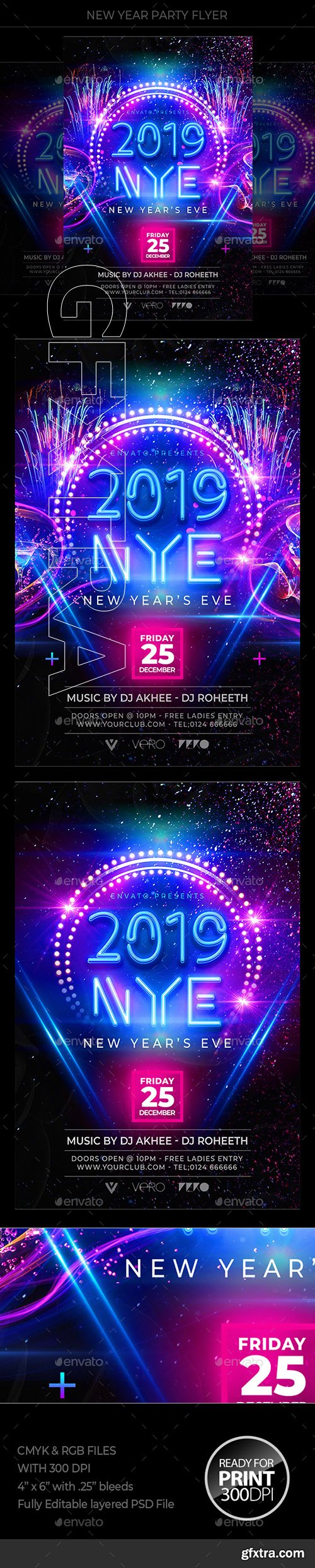 GraphicRiver - New Year Flyer 22850482