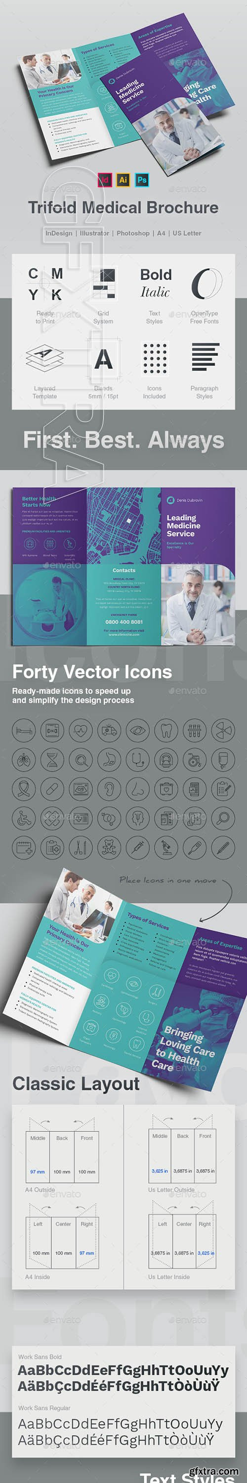 GraphicRiver - Trifold Medical Brochure 22866269