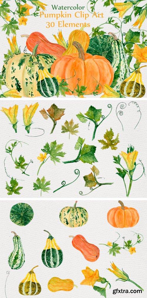 CF - Watercolor Clipart 482076