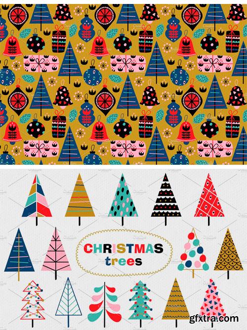 CM - Christmas Decorations Pattern Set 3078357