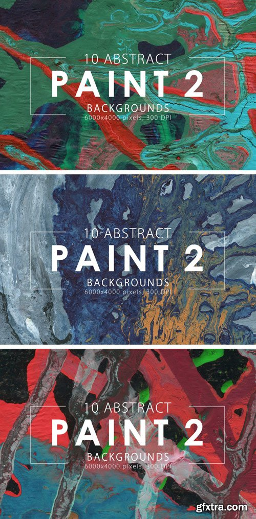 Designbundles - Abstract Paint Backgrounds Vol.2 61099