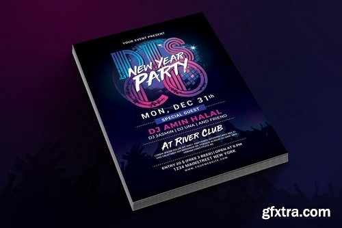 New Year Disco Party