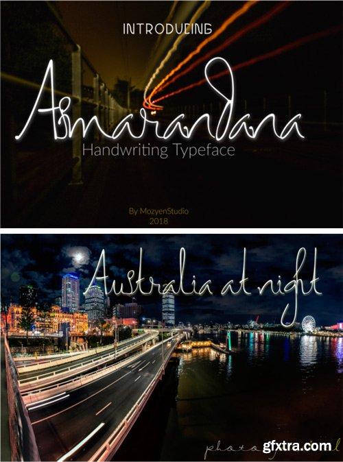 Asmarandana Font
